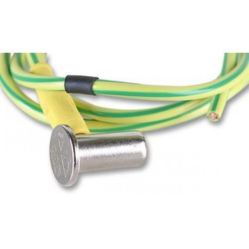 Potentiaalvereffeningskabel pe kabel voorgeconfectioneerd 1 meter