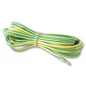 potentiaalvereffeningskabel connectoren en kabel aarddraad soepel 6qmm 10 meter